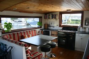 Galley and wheelhouse