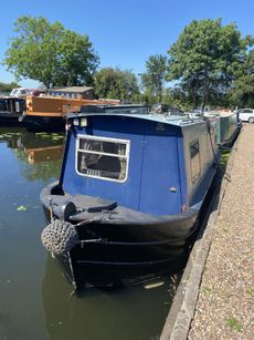 24 ft traditional stern narrowboat built by N&M narrowboats in 1995