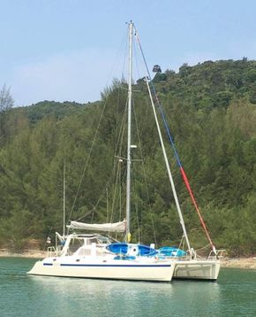 Sailing Catamaran for Sale in Langkawi