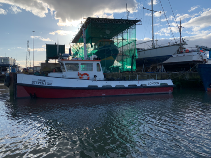 1987 Delta Launch 1400 Work Boat