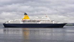 540' 500 Pax Cruise Ship