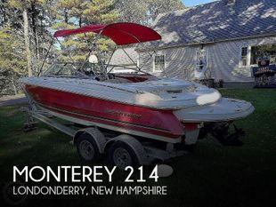 2006 Monterey Montura 214fs