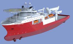 124mtr Dive Support Vesel (Diesel Electric)