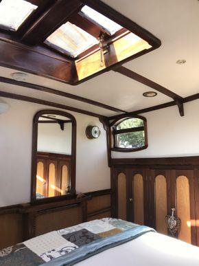 Aft master bedroom skylight