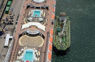 Marine Fuel Bunker Barge