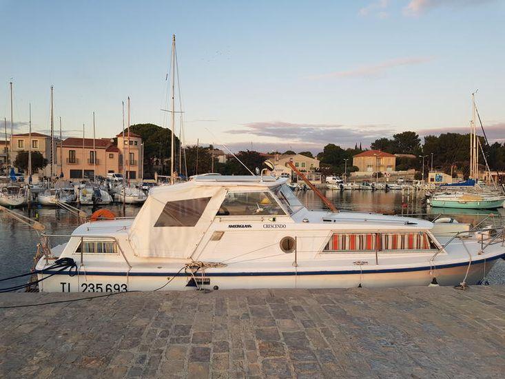 Amerglas 24 Liveaboard Cruiser South France