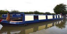 59' Reverse layout Cruiser stern 2005 Astbury Narrowboats