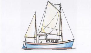 24' Motor Sailor