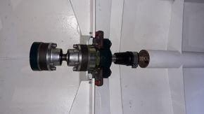 drive block, Thrust bearing, Transition