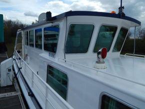 Dutch Barge Luxe Motor rebuilt  in 2008 - Coachroof/Wheelhouse
