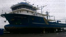 36 Meter Steel Utility Boat / Fish Farm Workboat