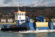 Multicat Workboat for Charter - 5 TBP 40 T Deck Capacity