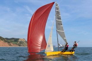 International 14 - Beiker 4 (sail no. 1506)