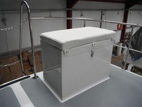 Custom built gas locker