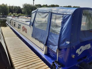 Cheers 60ft Cruiser Stern built 2015 by Blue Water Boats £119,000