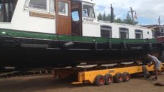 1906 Dutch 14.8m barge