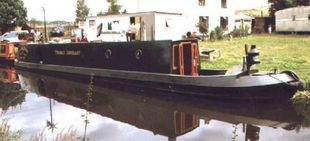 WANTED TUG NARROWBOAT  LARGE WELL DECK