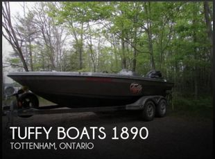 2008 Tuffy Boats 1890 Esox Deep V DS