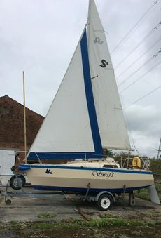 Swift 18 De Luxe Trailer Sailer
