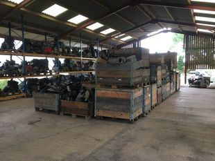 Yanmar 1GM Marine Diesel Engine Breaking For Spares