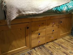 More storage in bedroom