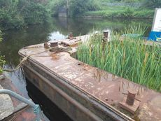 22m x 4.9m Hopper Barge - Ideal for houseboat conversion