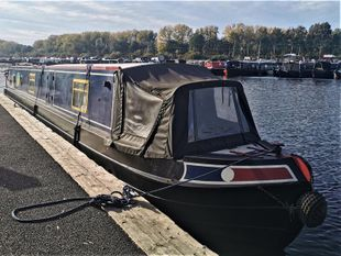 Libellula 58' Cruiser Stern offered with mooring at Roydon Marina