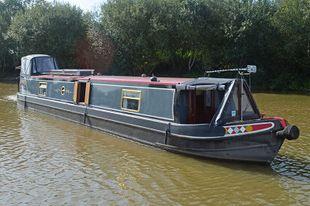 52ft Semi-Trad Stern Narrowboat