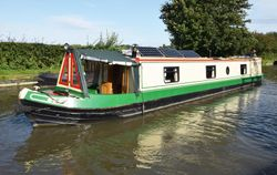 53' Trad stern narrowboat 2016 XR&D/Cherilt Narrowboats