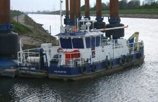 14.6m Small Suction Dredger