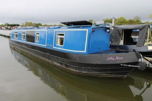 Tilly Mint 45ft Cruiser stern narrowboat