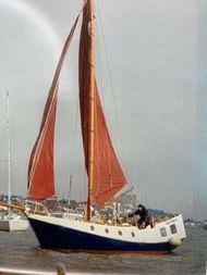 36ft Dutch steel cruising yacht