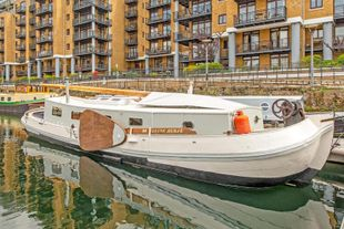 Dutch sailing barge for sale, E1W