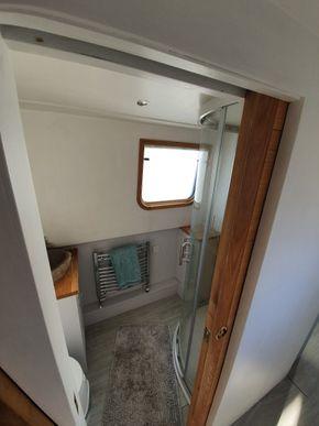 From the corridor - sliding door