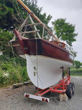 July 2021 Trailered stern