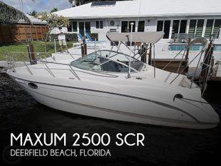 2002 Maxum 2500 SCR