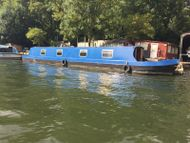 Colecraft 57' Narrowboat Cruiser Stern, Thames mooring.