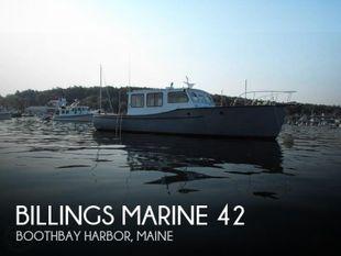 1949 Billings Marine 42 Maine Marine Patrol