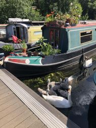 55 ft narrowboat with London mooring