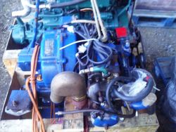 Yanmar YSE 8 Marine Diesel Engine Breaking For Spares