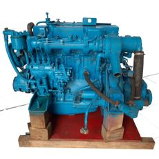 Sabb M4.295 Mitsubishi S4 E-2  inboard diesel engine from lifeboat