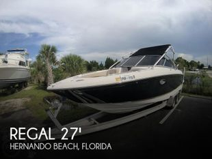 2007 Regal 2700 ES Bowrider
