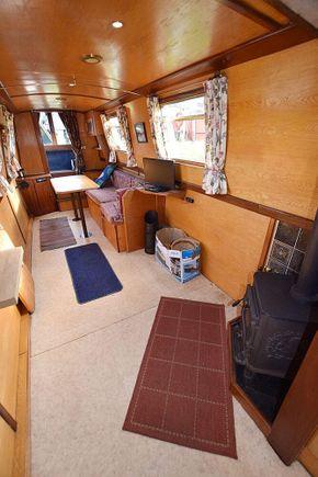 Saloon toward well deck