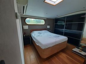 Dutch Barge 27.65 Well equiped liveaboard with TRIWV valid until nov 2023 - Cabin