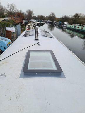 Skylight & Solar panels
