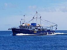 FV Seeker II. Steel commercial fishing