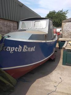 21ft Steel Workboat