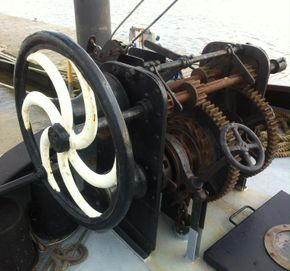 Forward winch