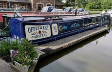 60 ft OFFEEWENT Luxury Trad. With mooring at Garstang on the Lancaster