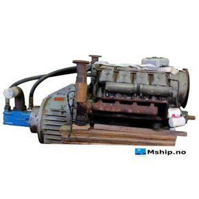 Deutz F10L413 F  with hydraulic pump